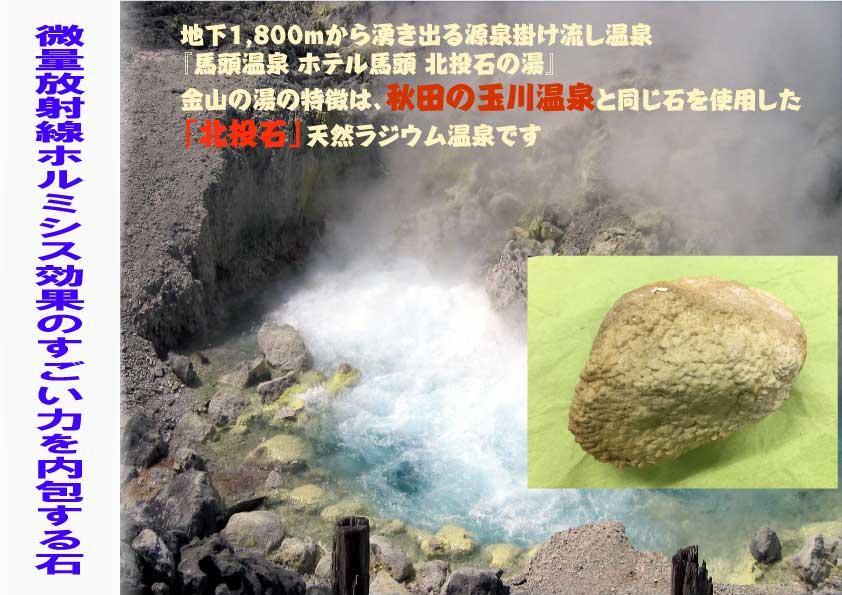 秋田県と同じ石を使用